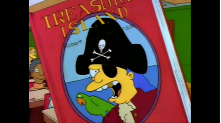 Simpsons Treasure Island